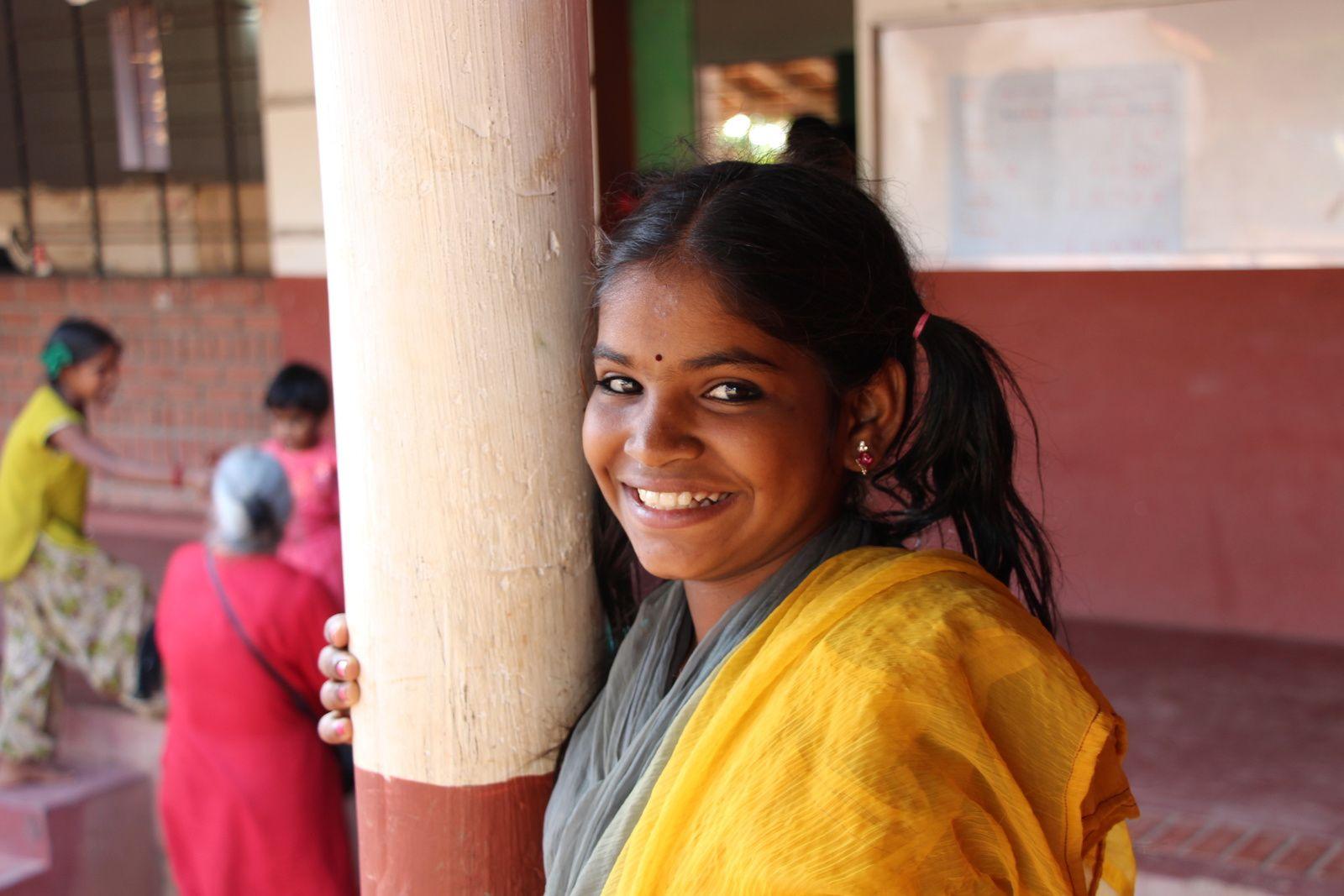 Vasugi, Apres School, Tamil Nadu (Inde), 1er février 217 © eMmA MessanA
