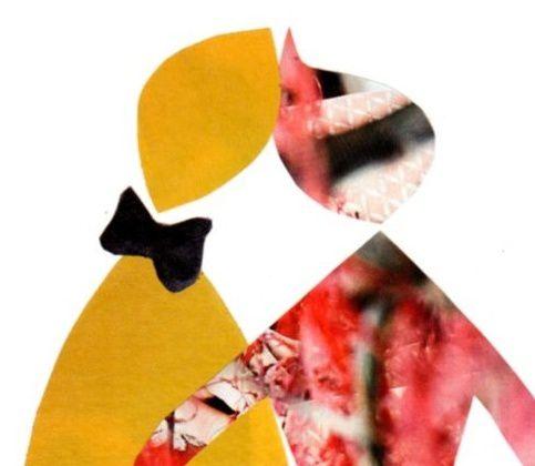 """Les Collages d'eMmA MessanA, fragment du collage """"Ca fait un bien fou !"""", pièce unique"""