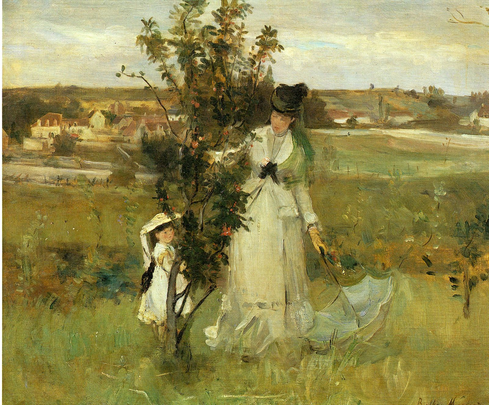 Berthe Morisot : une impressionniste