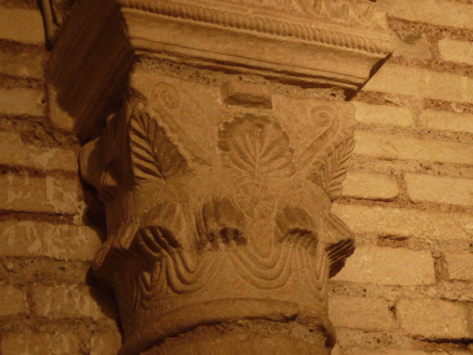 Une crypte romane à Orléans : Saint Aignan