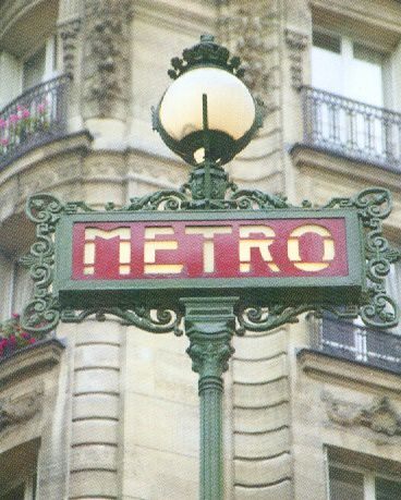 Gien et le métro de Paris