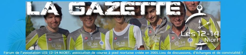 Forum La Gazette 12-14 Niort