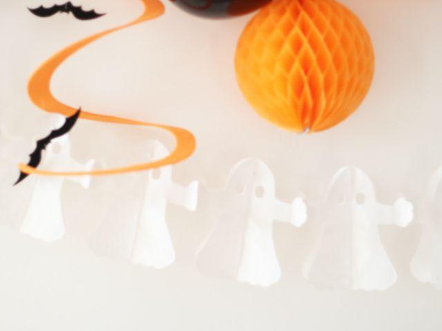 Goûter d'Halloween avec des cupcakes fantômes à la citrouille & cie
