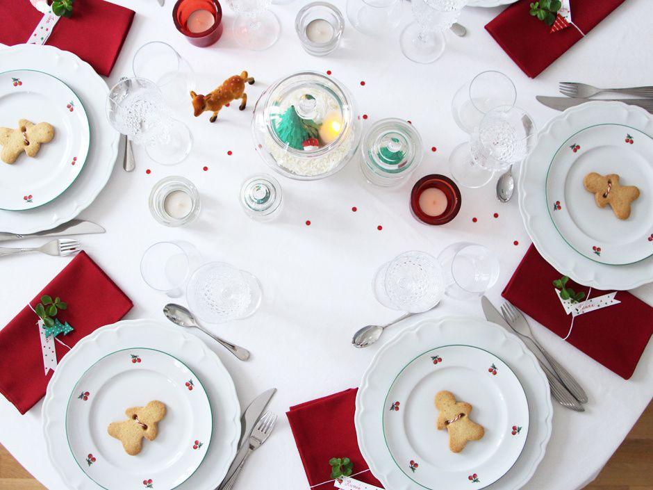 Ma table de fête noël traditionnel