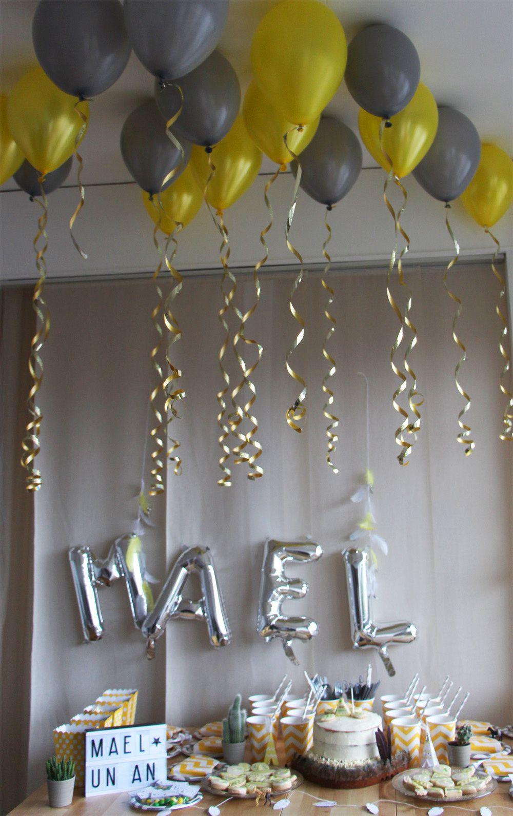 Un anniversaire d'inspiration indien-boho pour baby Mael