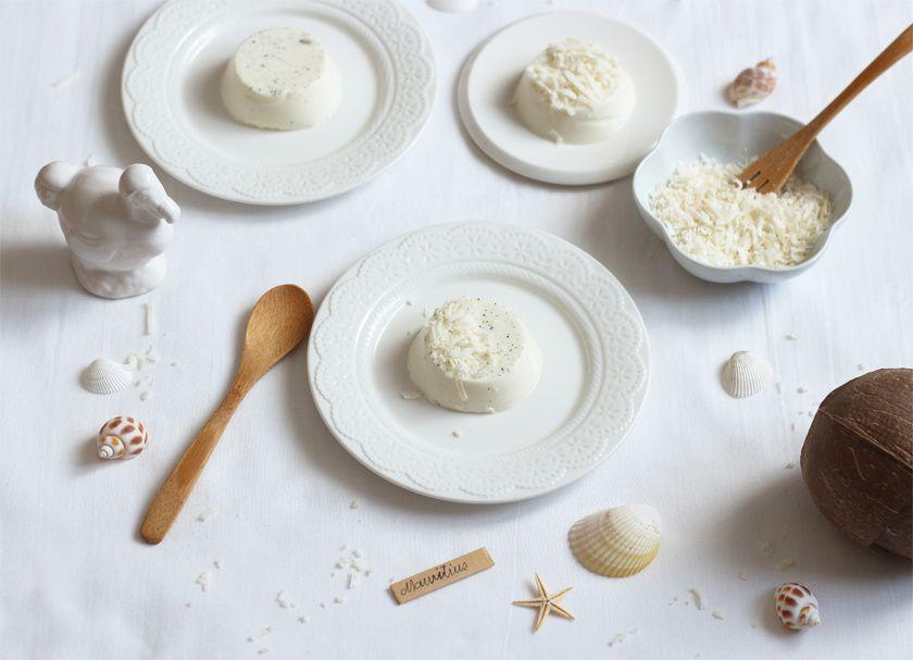 Petite crème à la coco-vanille, un dessert à la saveur d'île Maurice