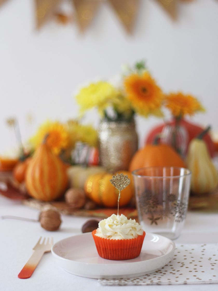 Halloween fall table : déco & douceur
