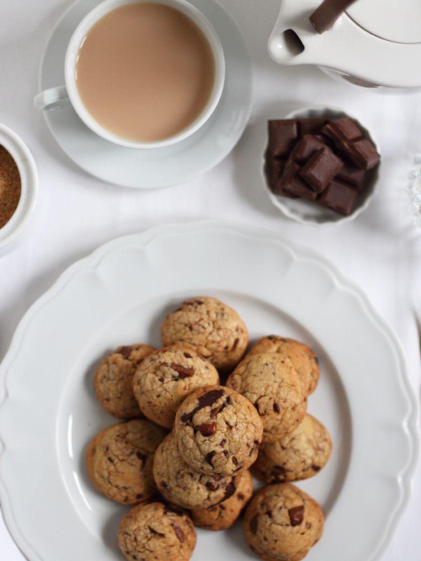 Cookies aux deux chocolats pour le goûter