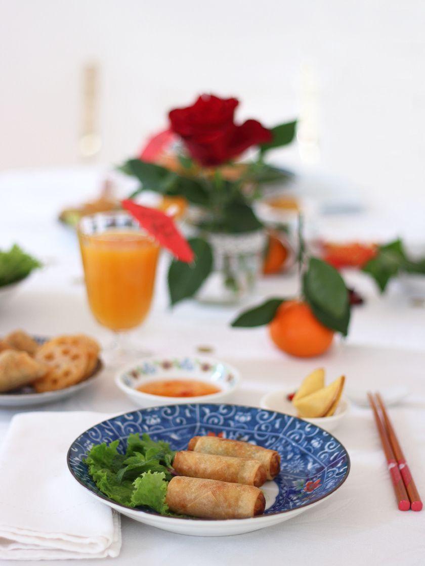 Mon menu festif pour le nouvel an chinois