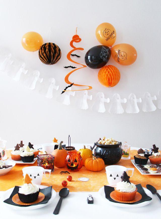 Méli-mélo d'inspiration Halloween