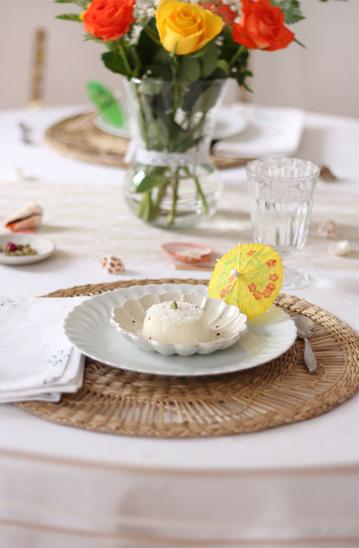 Flan coco-cardamome, mon dessert festif pour l'indépendance de l'île Maurice