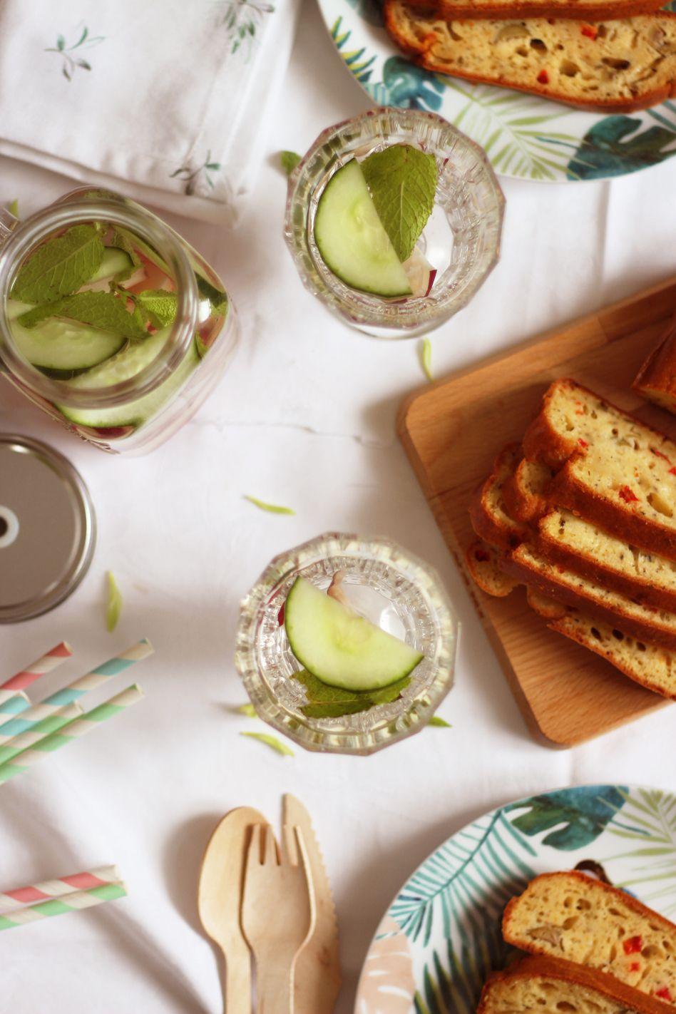 Cake provençal aux olives pour un apéro estival