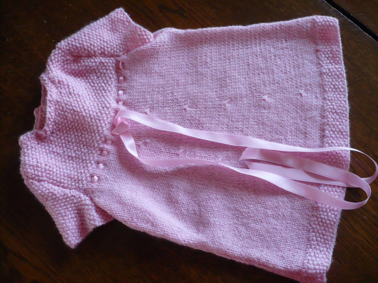 robe 3 - 6 mois en laine Fonty BB Mérinos