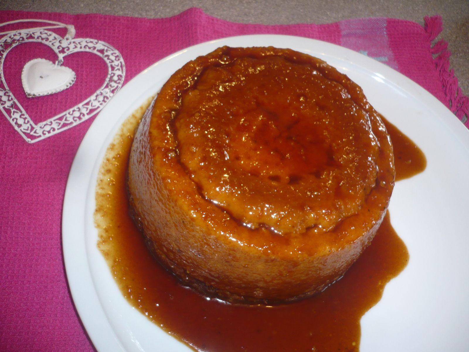 Pudding de pain rassis dans moule 1900 :