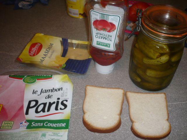Le sandwich fétiche de Linette :