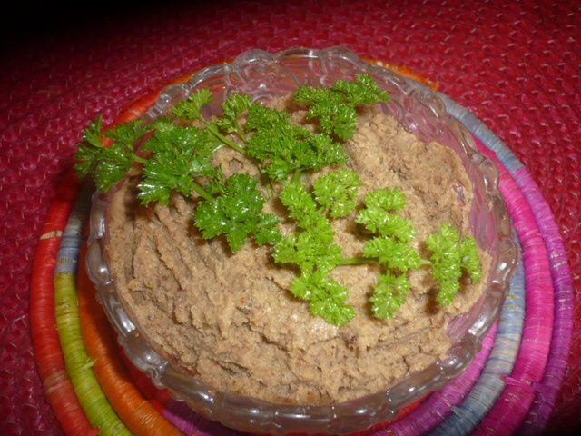 Pâté végétal aux châtaignes et noix