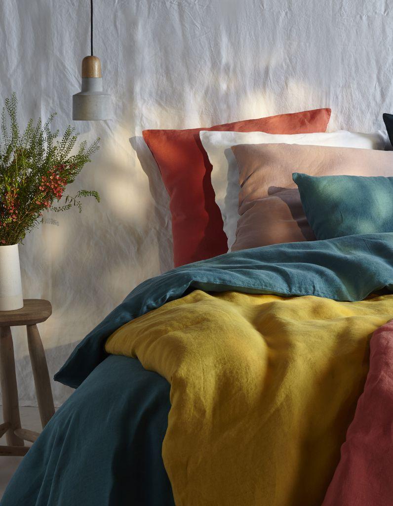 bouchara sort enfin du linge de maison en lin fo bouchara eurodif votre blog. Black Bedroom Furniture Sets. Home Design Ideas