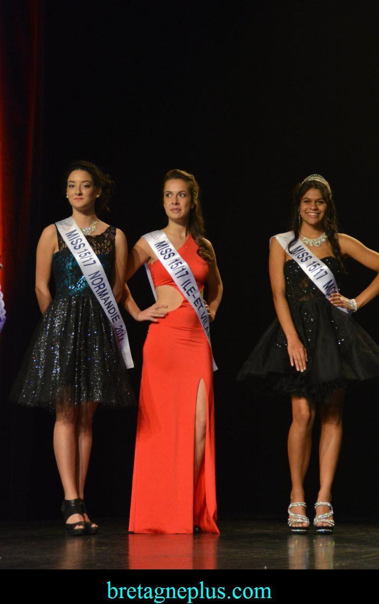 Election Miss 15/17 et Modèle Elégance Bretagne 2016