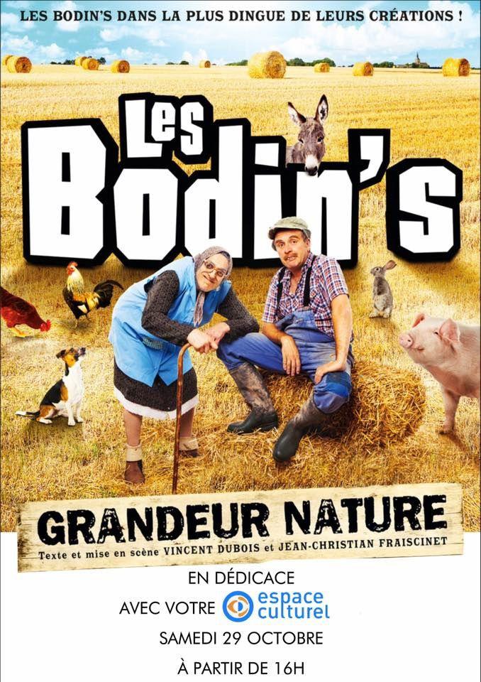Les Bodin's en dédicace au Centre Leclerc Cleunay