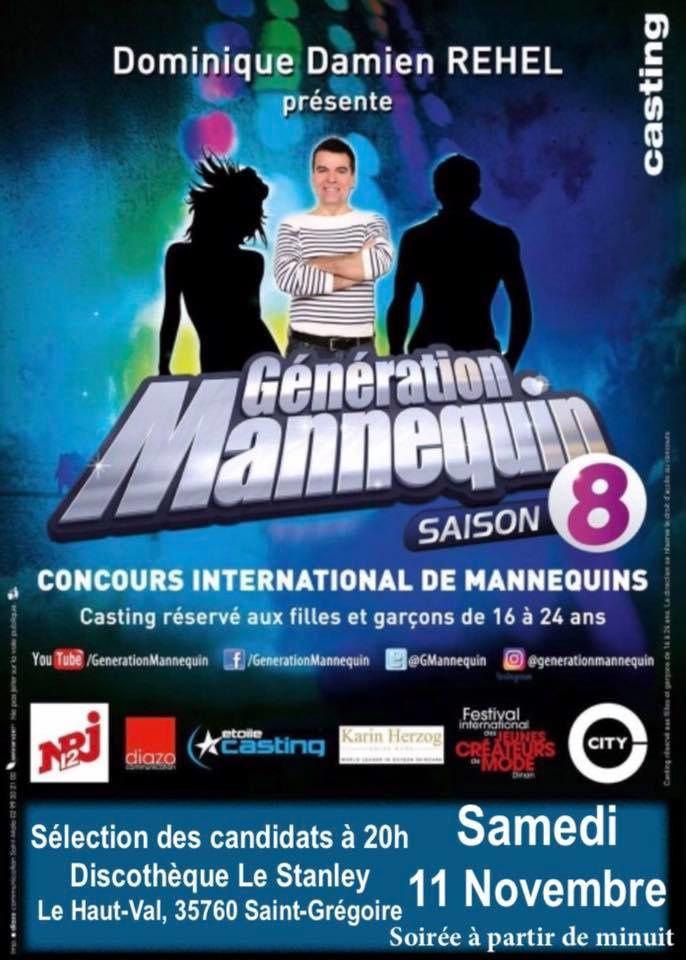 Casting Génération Mannequin saison 8 au Stanley