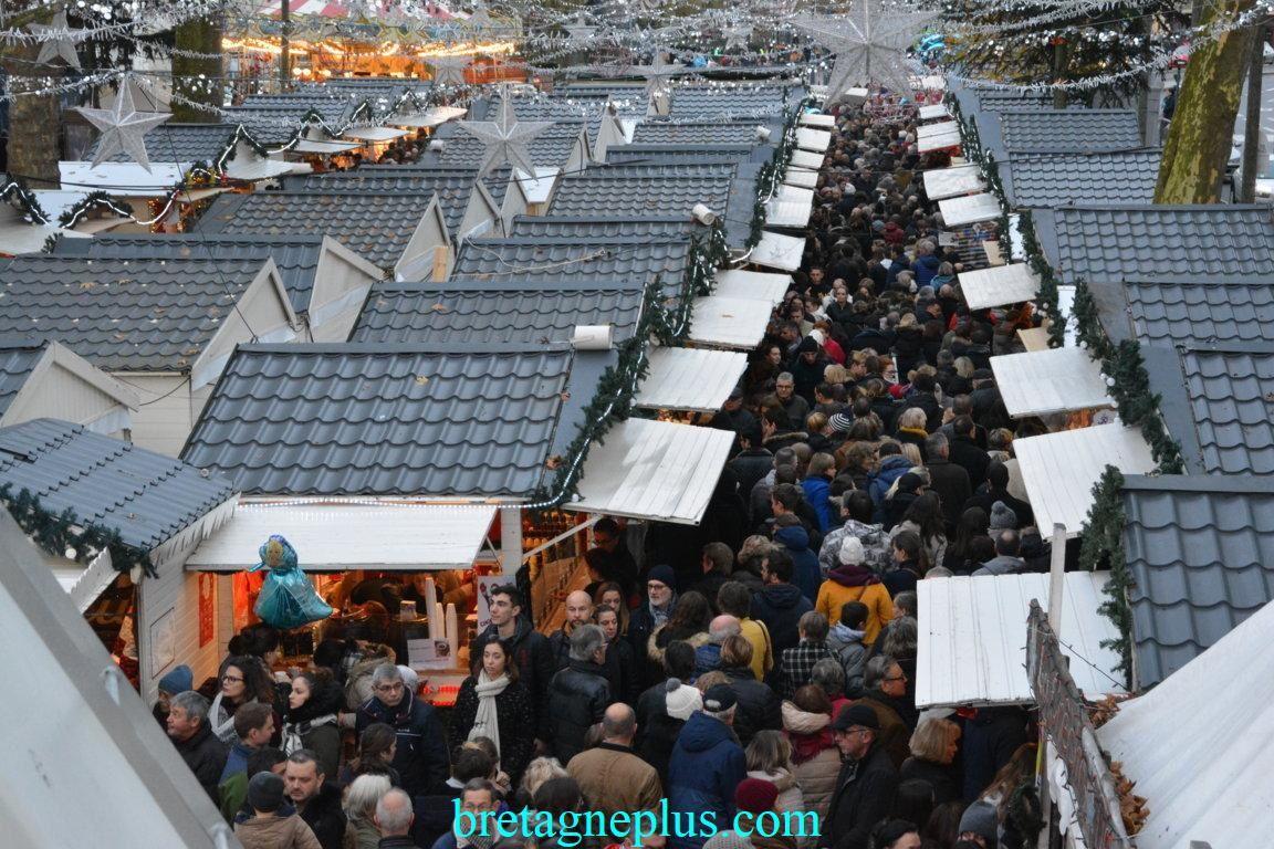Marché de Noël Rennes 2017