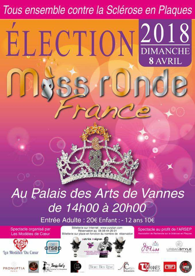 Election Miss Ronde France 2018