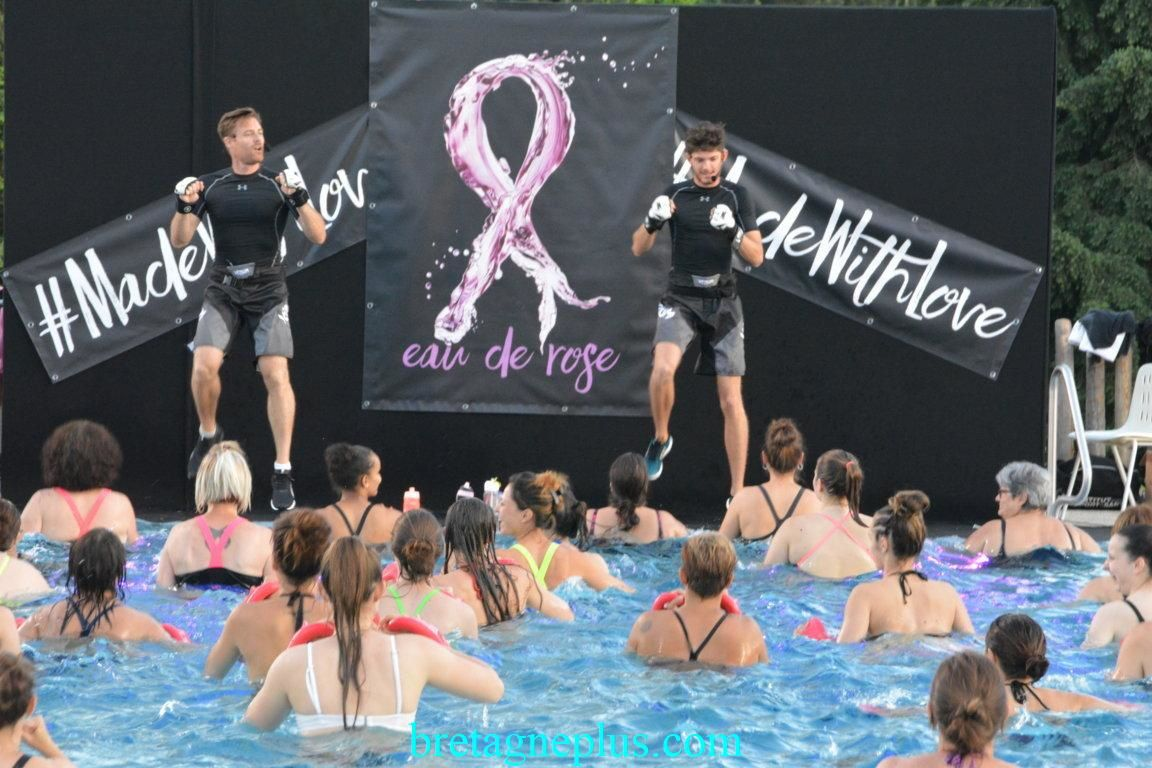 1ère Edition de la Pink Pool Party à Rennes