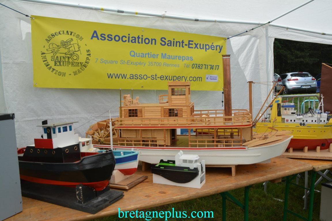 Fête du modélisne naval de l ' association Saint-Exupéry