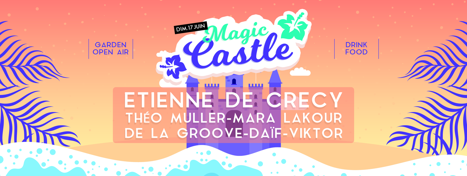 Magic Castle 2018 au Château de la Motte Beaumanoir