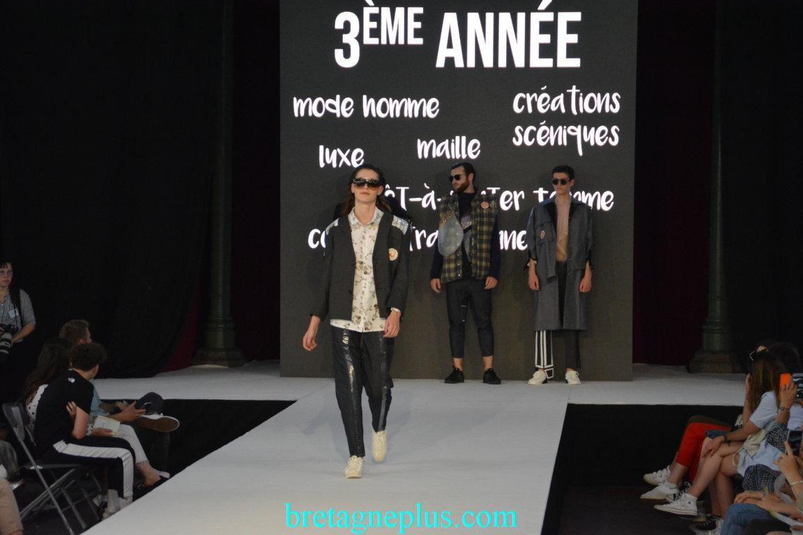 Défilé ESMOD Rennes 2018