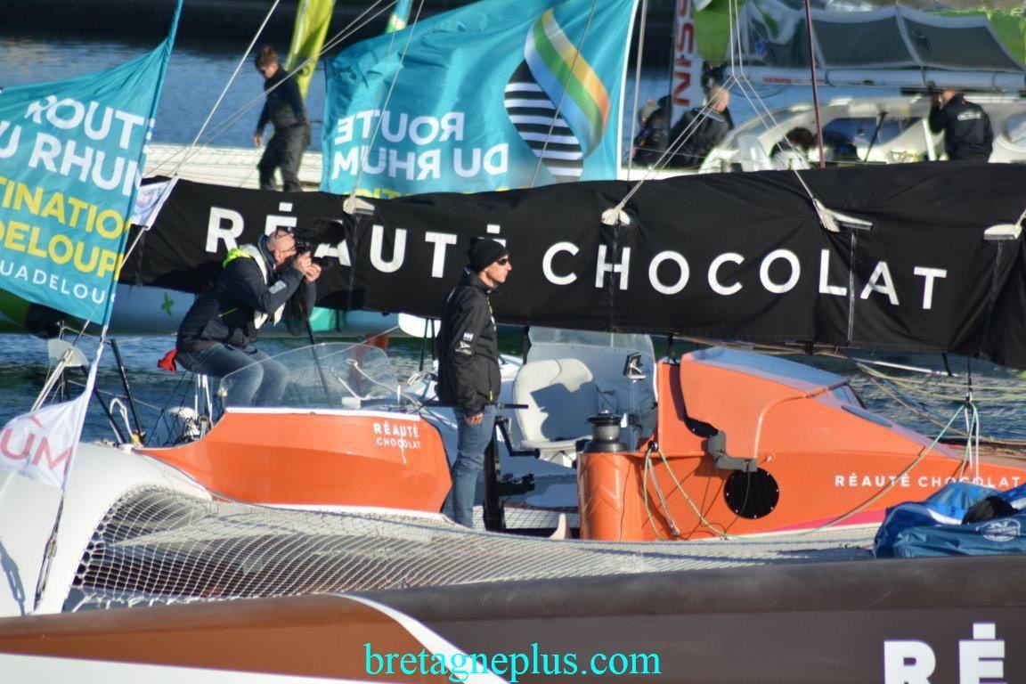 Départ de la Route du Rhum 2018