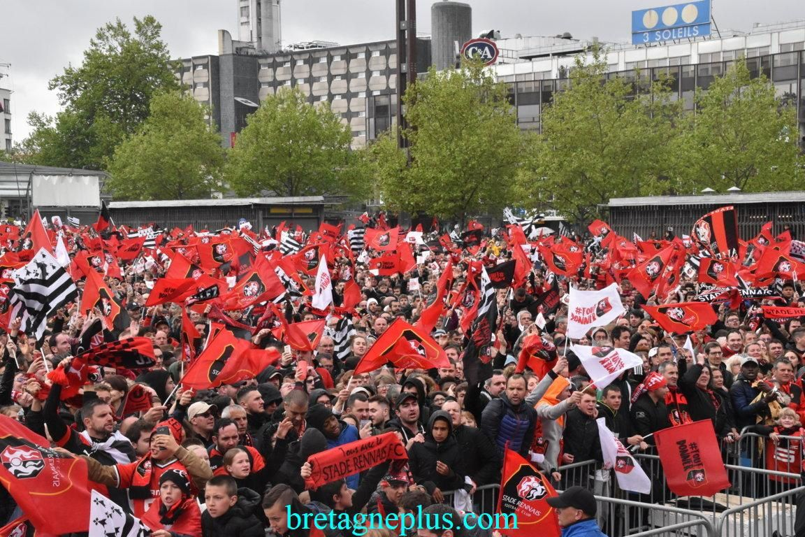 La Coupe de France de Football 2019 à Rennes en Images