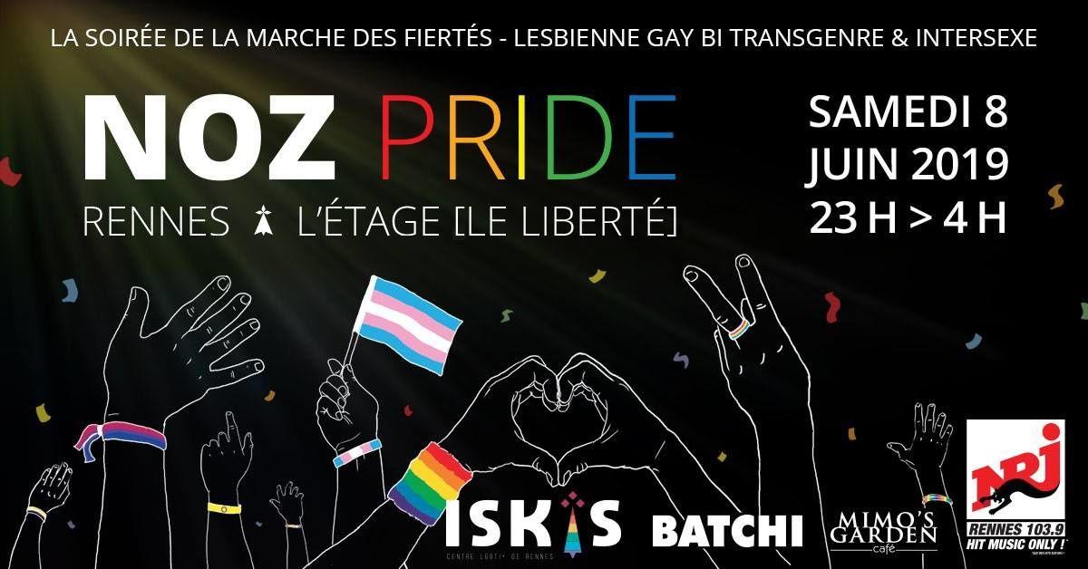 Marche des Fiertés Rennes 2019