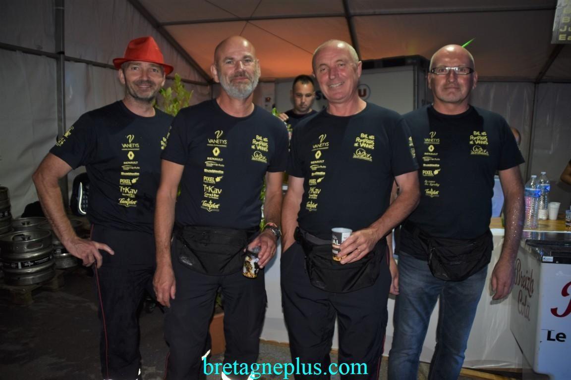 Bal des pompiers de Vannes 2019