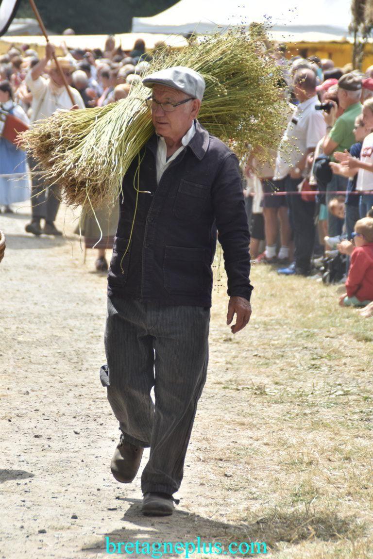 Fête du blé et vieux métiers de Pleudihen sur Rance 2019
