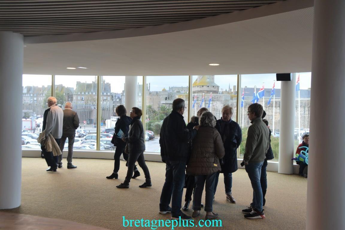 Inauguration Palais du Grand Large de Saint-Malo
