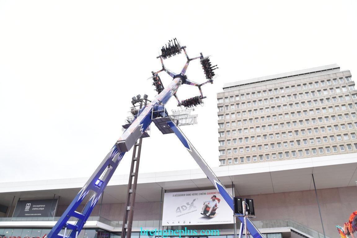 Inauguration Foire d' hiver Rennes 2019