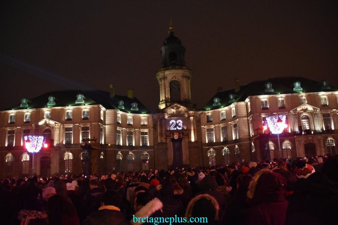 Nuit de la Saint-Sylvestre Rennes 2019