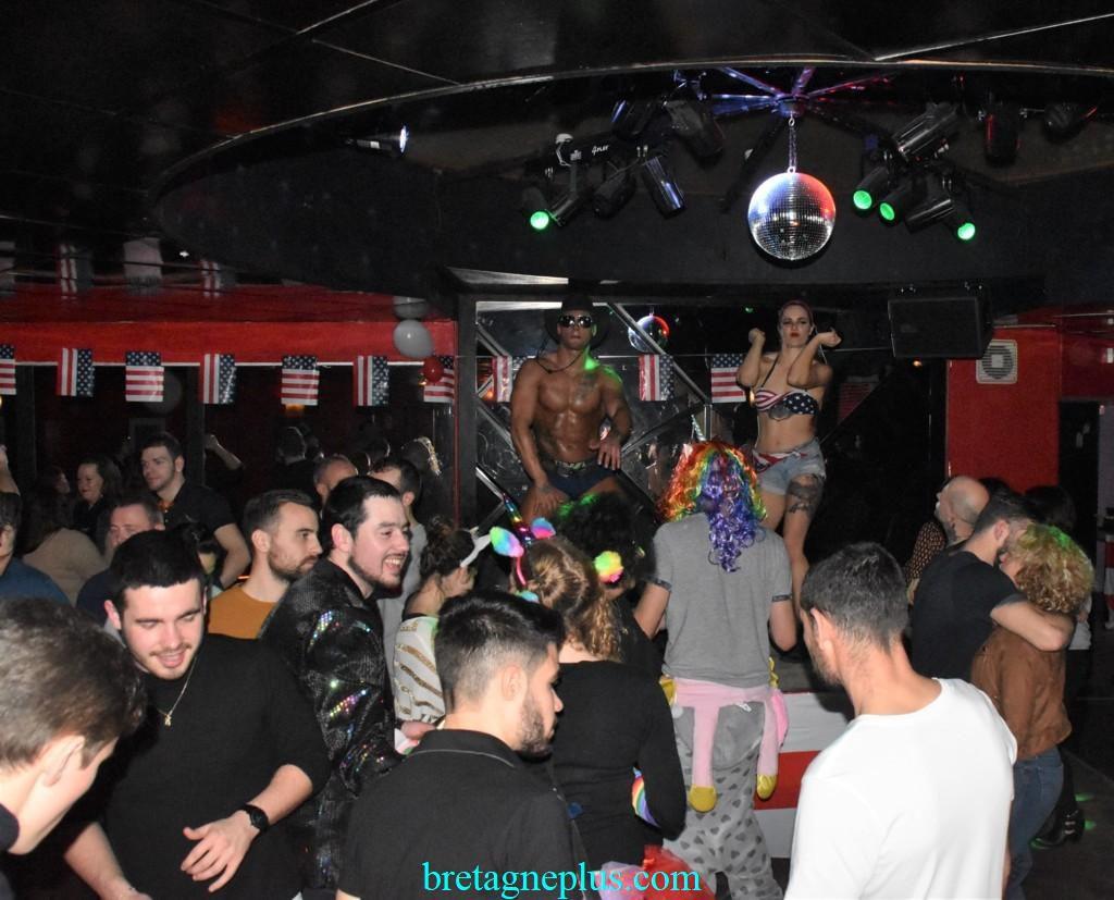 Américan Party au Ben's Club