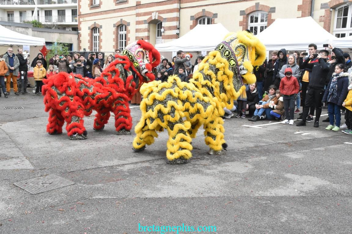 Fête du Nouvel an Chinois Rennes 2020