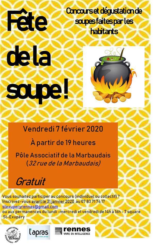 Fête de la soupe Rennes 2020