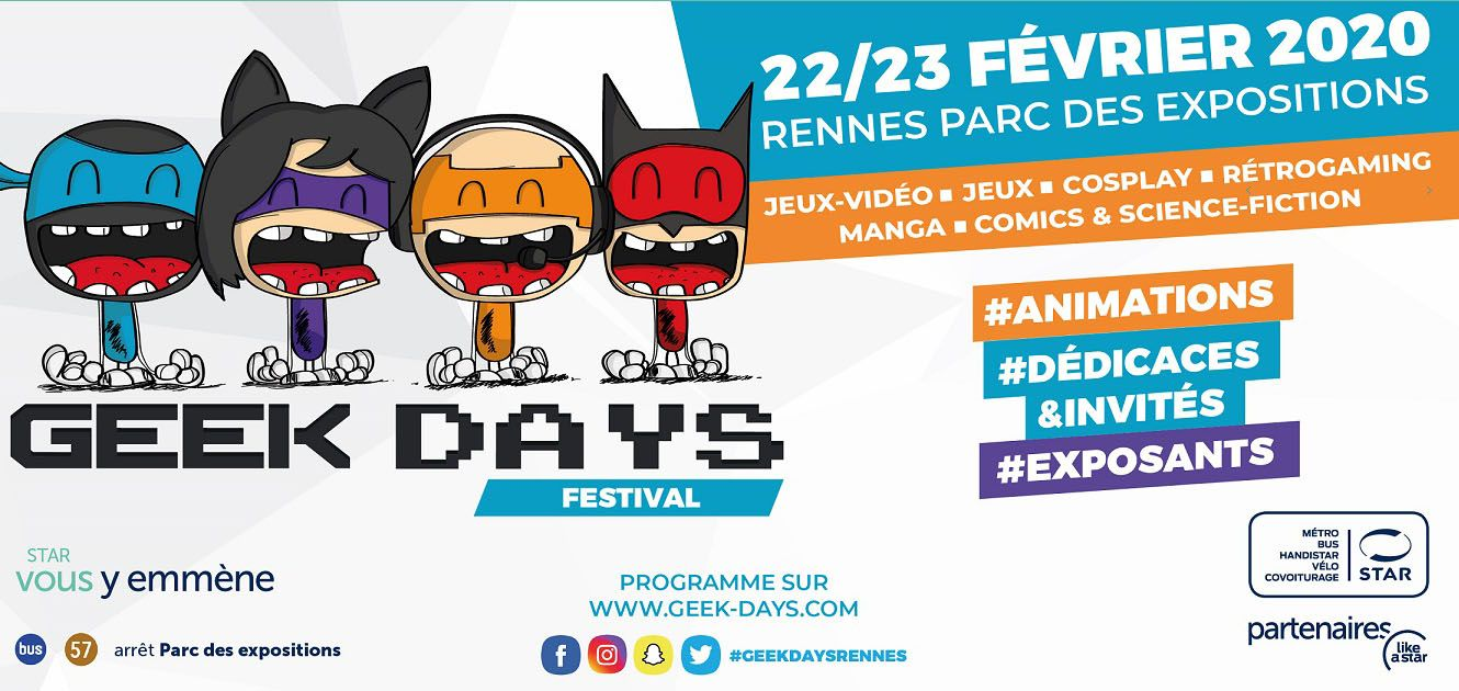 GEEK DAYS RENNES 2020