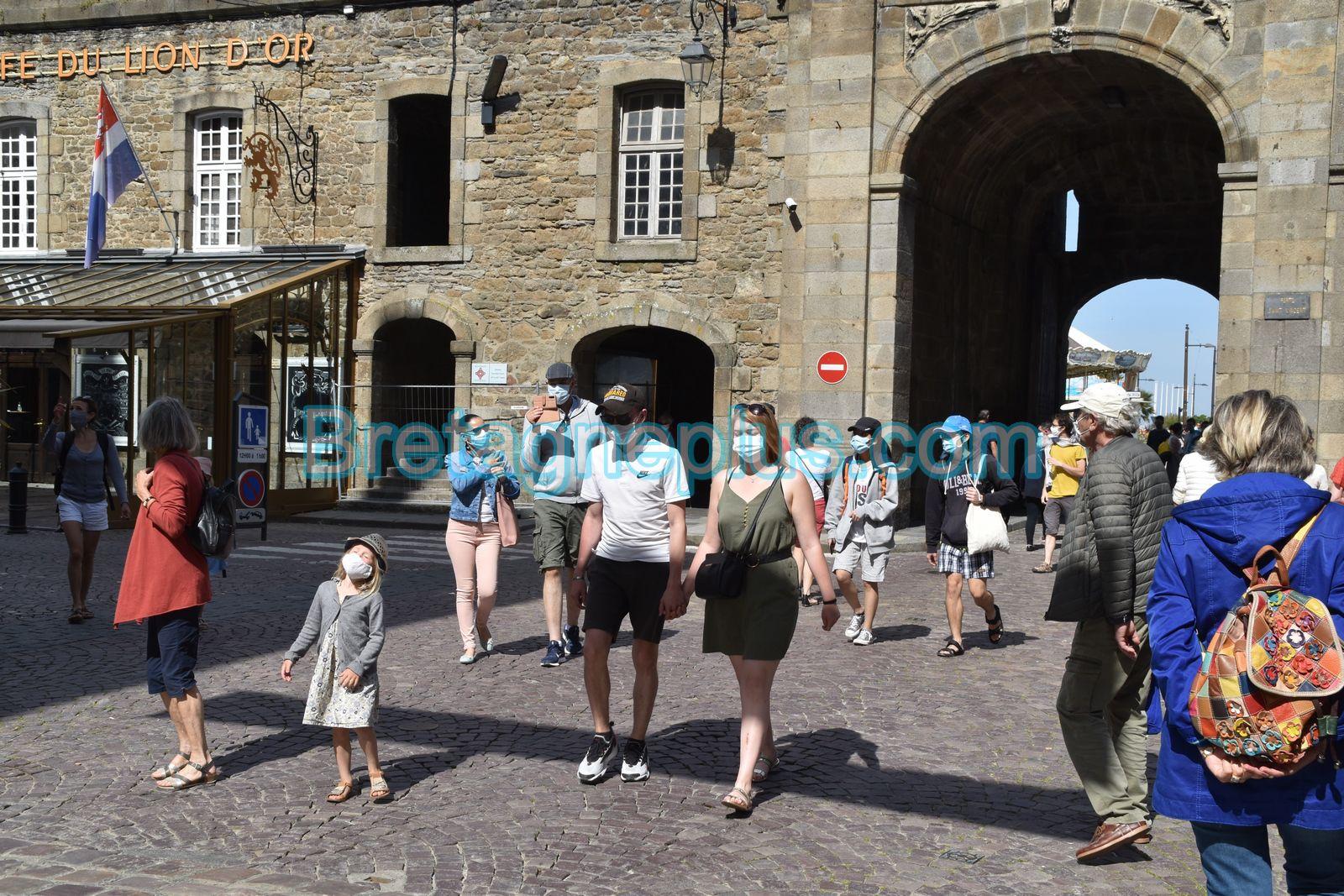 Déconfinement à Saint-Malo et Dinard