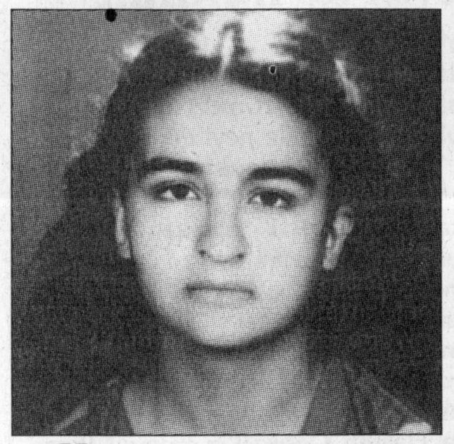Zeynep Kınacı. Portrait publié par Hürriyet, 3 juillet 1996