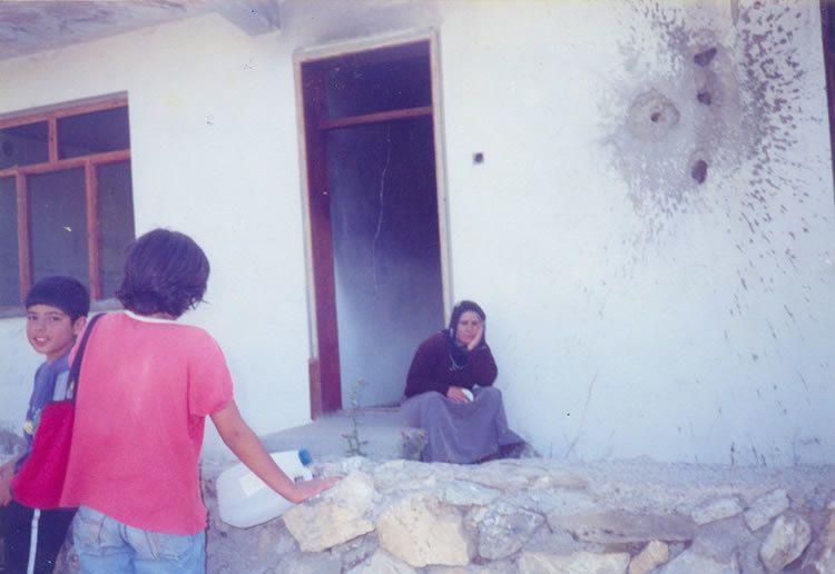 Photo publiée par l'association Amed Göç-Der, lieu et date non précisés.