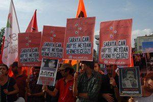 """""""On ne laissera plus une vie - on ne laissera plus une place - à l'AKP"""""""