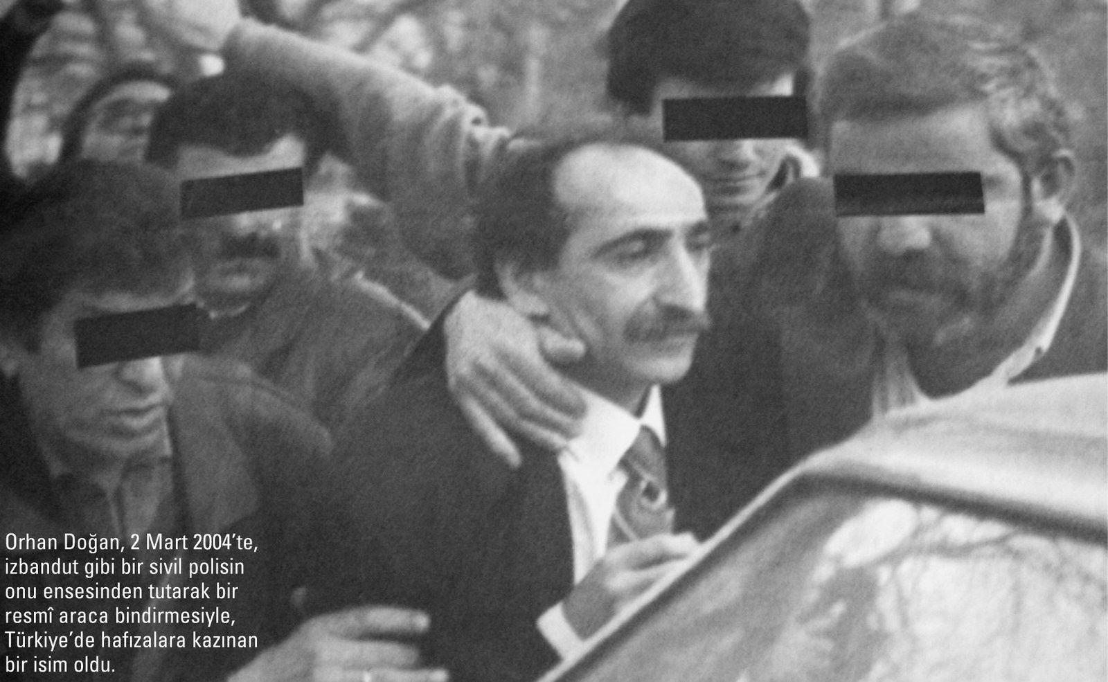 L'arrestation du député Orhan Dogan, mars 1994