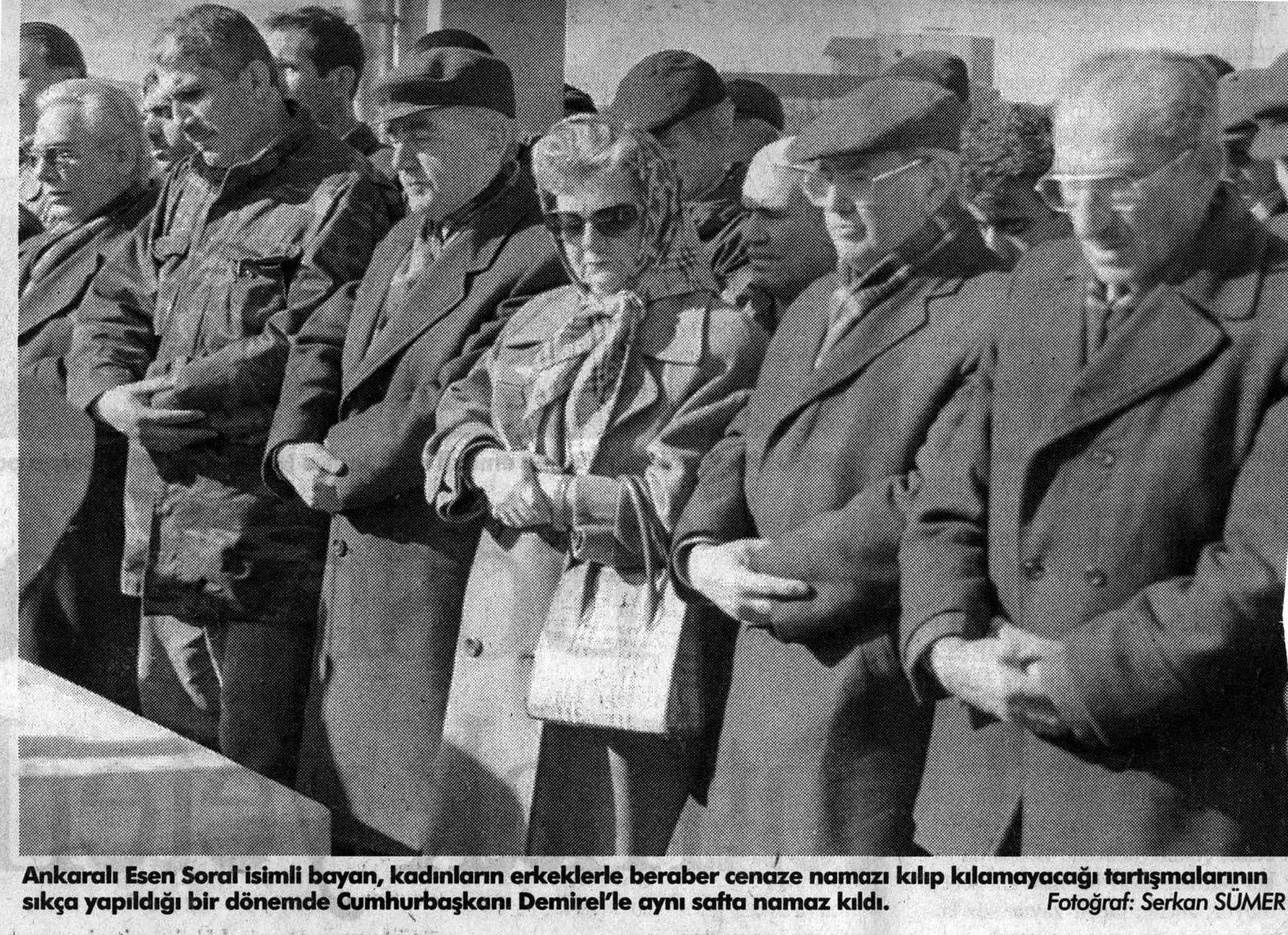 Cliché Serkan Sümer pour Zaman, 10 janvier 1998