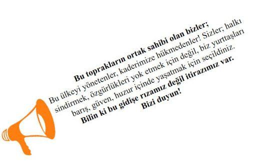 Répression en Turquie - Un appel citoyen à diffuser !
