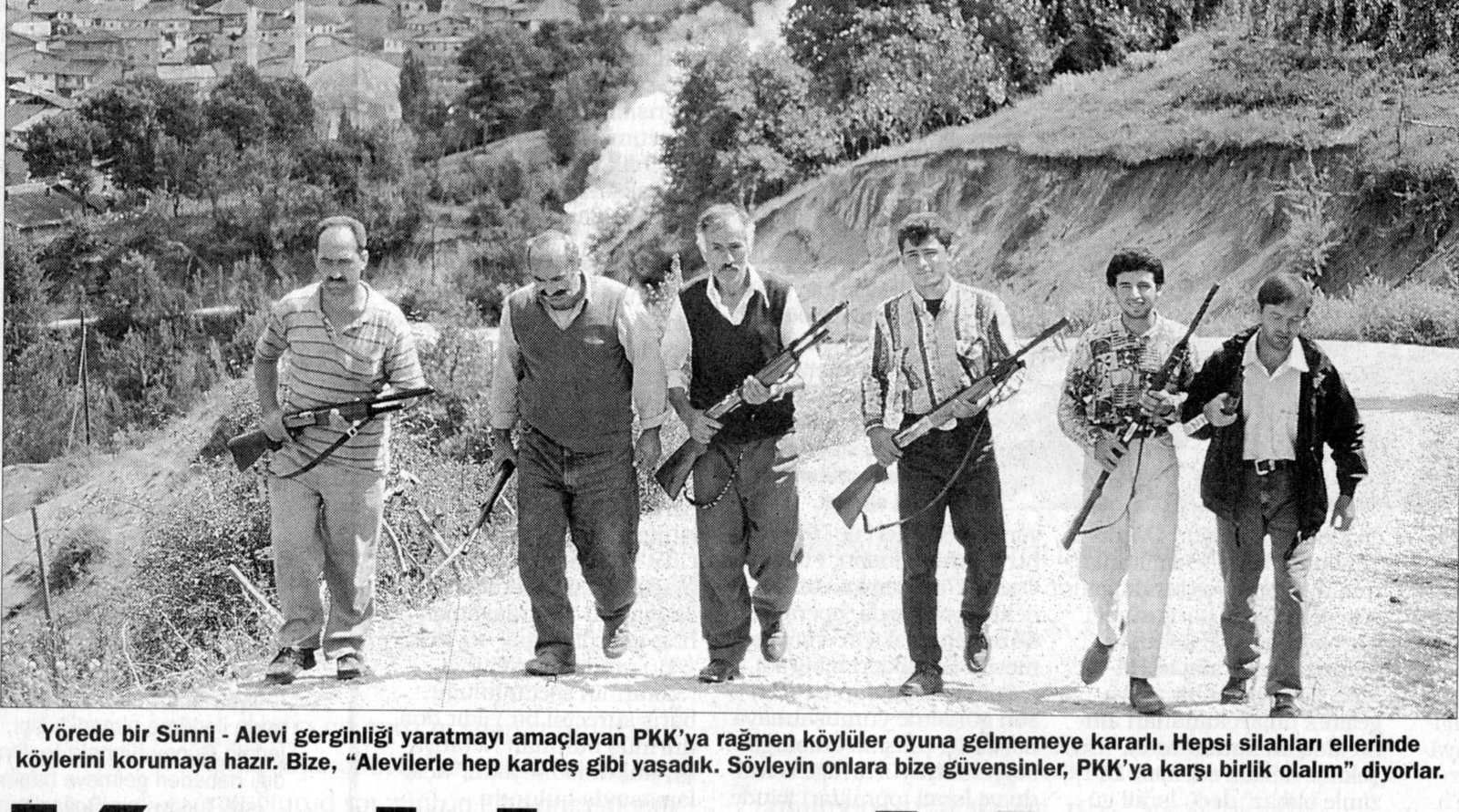 Photo publiée par Milliyet, 5 septembre 1997